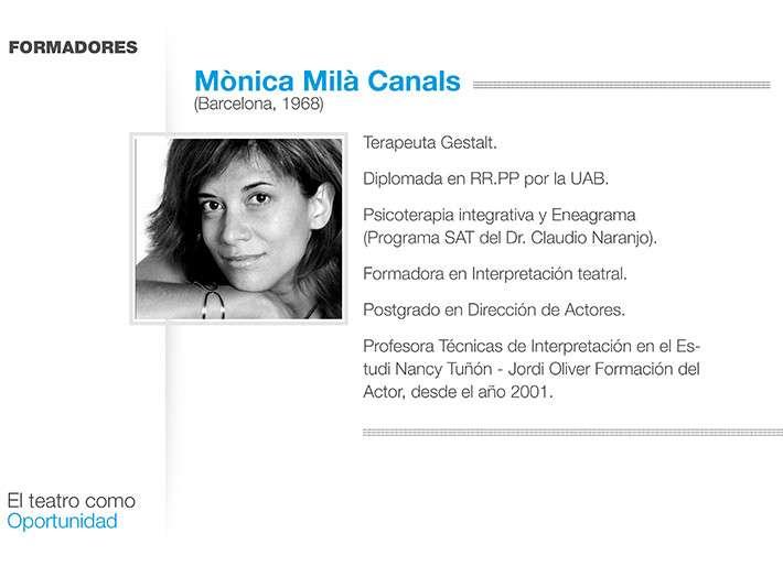 Teatro y Gestalt- Mónica Milà
