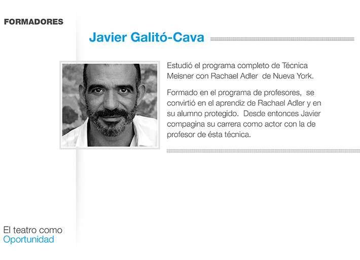 Teatro y Gestalt- Javier Galitó