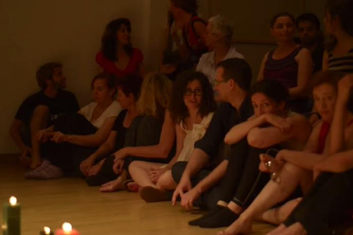 Formación Teatro y Gestalt muestra alumnos