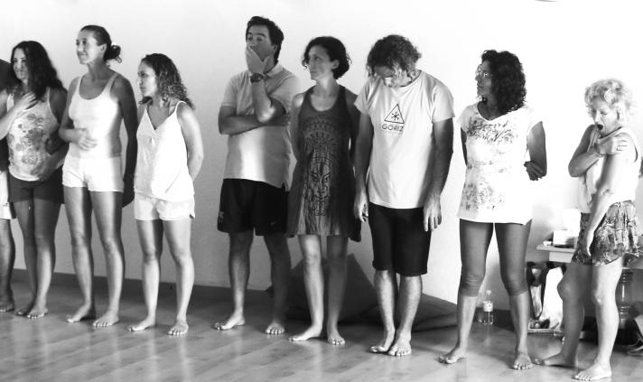 La sesión de teatro y Gestalt: el punto de partida
